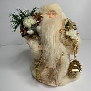 Other - White Christmas Santa Tree Top